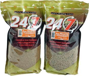 24/7 feed pellets